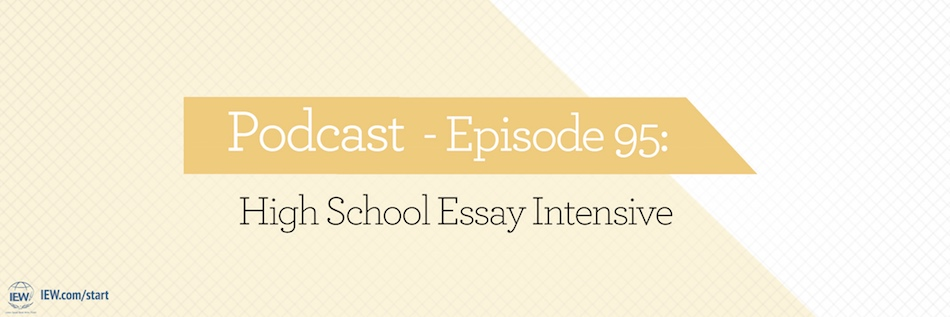 podcast  episode  high school essay intensive  institute for  text analysis organization and essay prompts are some of the challenges  students strive to overcome when writing essays in this podcast andrew and  julie