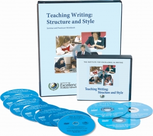 Apply for accreditation using Teaching Writing: Structure and Style, First Edition video course and materials.
